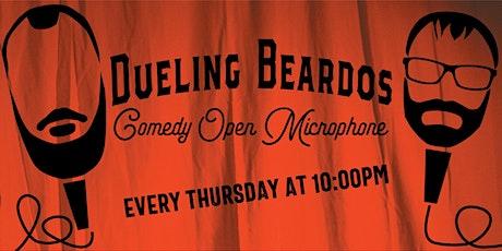 Dueling Beardos Comedy Open Microphone.  tickets