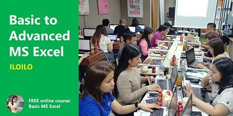 BACOLOD Basic to Advanced MS Excel Training tickets