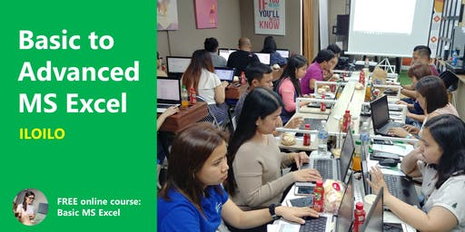 BACOLOD Basic to Advanced MS Excel Training