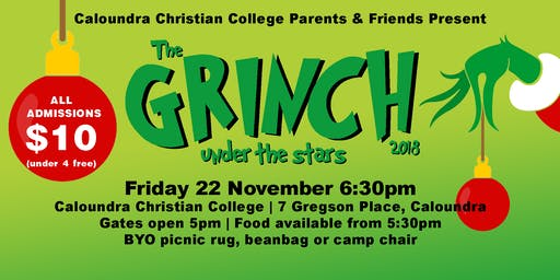 The Grinch - Outdoor Movie Night Fundraiser - Family Event