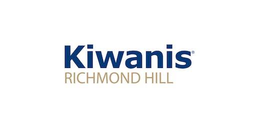 RH Kiwanis Charter Event