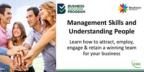 Management Skills and Understanding People tickets