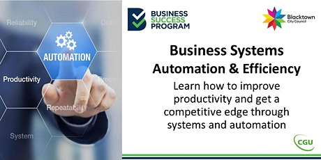 Business Systems, Automation and Efficiency tickets