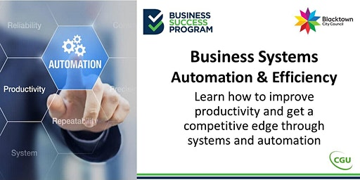Business Systems, Automation and Efficiency