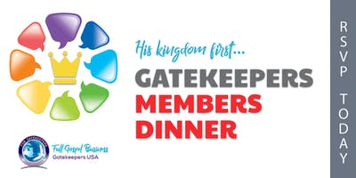 Gatekeepers Members Dinner