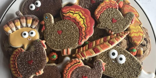 Give Thanks DIY Cookie Platter Decorating Workshop for Adults