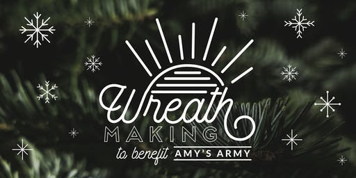 5th Annual Amy's Army Wreath Making