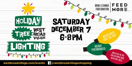 Holiday Tree Lighting at West Broad Village tickets