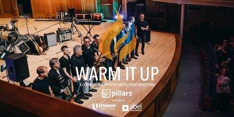 Warm It Up | Kyle Megna & The Brass Monsoon benefiting Pillars tickets
