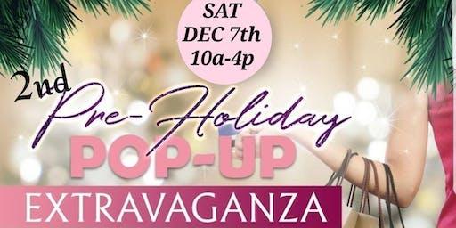 2nd Pre-Holiday Pop-Up Shop Extravaganza(Monroe Edition)
