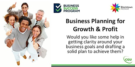 Business Planning and Growth tickets