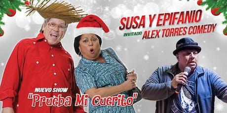 Susa y Epifanio - San Antonio tickets