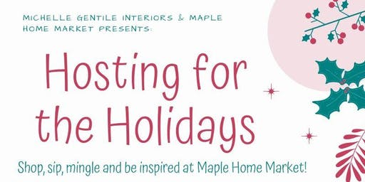 Hosting for the Holidays Event!