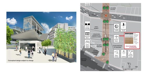 Chinatown Rail Station Design & Kekaulike Street Market Project