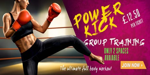 Power Kick Group Training