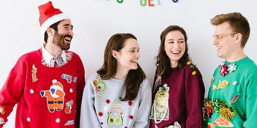 Colorado Gives Day Ugly Sweater Green Drinks