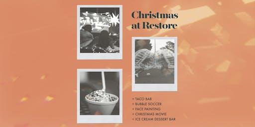 Christmas at Restore
