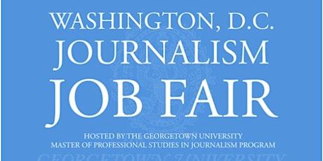 2020 D.C. Journalism Job Fair - Recruiter Registration tickets