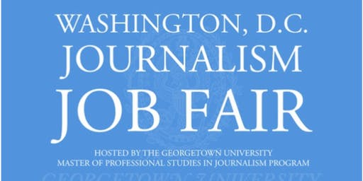 2020 D.C. Journalism Job Fair - Recruiter Registration