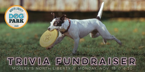 Trivia at Mosley's: North Liberty Dog Park Fundraiser