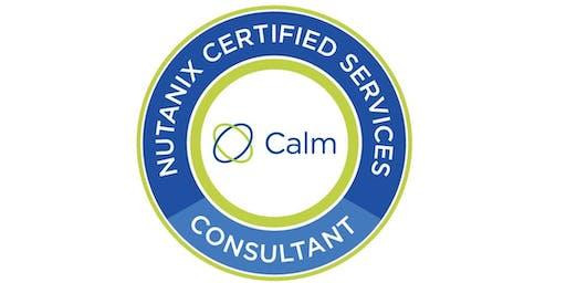Nutanix Certified Specialist - Calm Consultant(NCS C-CA) , Sterling VA - Instructor Brian Klessig - Dec 9 & 10, 2019