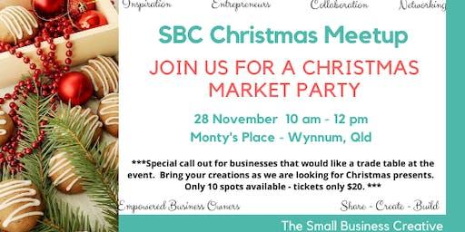 SBC Christmas Market Party