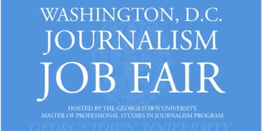 2020 D.C. Journalism Job Fair - Job Seeker Registration