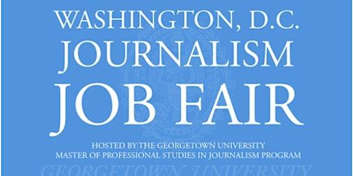 2020 D.C. Journalism Job Fair - Job Seeker Registration