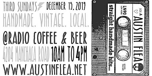 Holiday Austin Flea at Radio Coffee & Beer