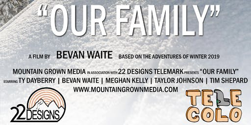 """Our Family"" Video Premiere & Shane McConkey IPA Release Party"