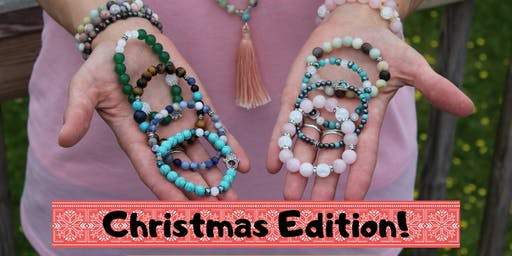 Holly Jolly Mala-Making Workshop! + Divinely Guided Reading