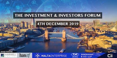Cii - The Investment & Investors Forum London tickets