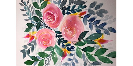 Watercolor 101: Florals (04-11-2020 starts at 3:00 PM) tickets