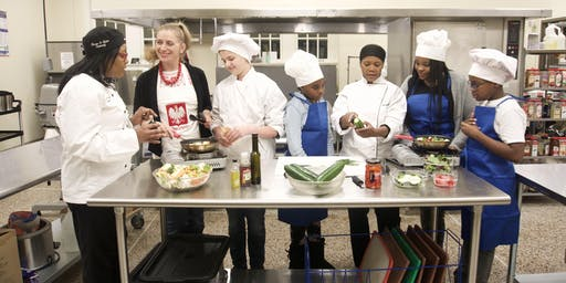 Families Cooking with Chefs for the Holiday!