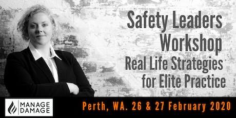 Safety Leader Workshop (Perth) tickets