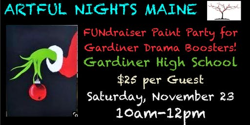 FUNdraiser Paint Party for Gardiner Drama Boosters