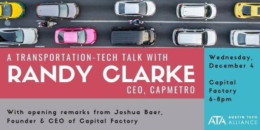 A transportation-tech talk with Randy Clarke