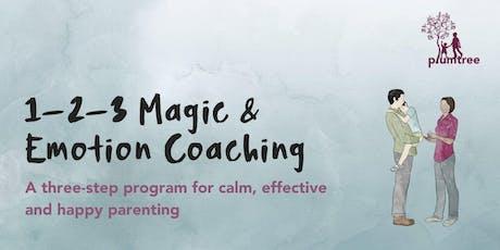 1-2-3 Magic & Emotional Coaching tickets