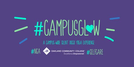 Campus Glow OCC | Silent Disco Yoga at OCC Highland Lakes tickets