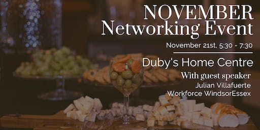 Duby's Home Centre Networking Event - Amherstburg Chamber of Commerce