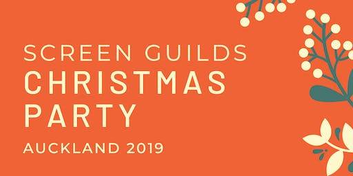 2019 Screen Guilds Christmas Party - Auckland