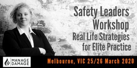Safety Leader Workshop (Melbourne) tickets