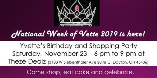National Week of Vette Birthday and Launch Party