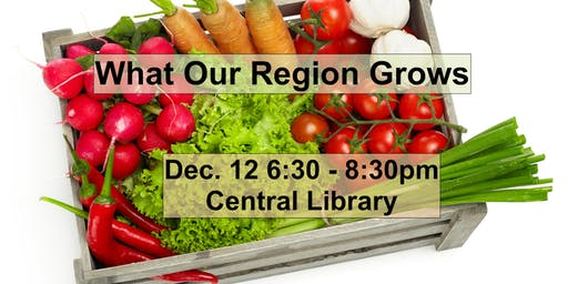 FOUA Meeting: What Our Region Grows