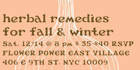 herbal remedies for fall & winter tickets