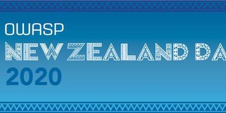 OWASP New Zealand Day 2020 tickets