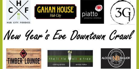 New Year's Eve Downtown Crawl! tickets