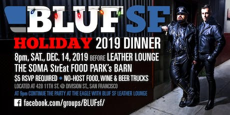 BLUF SF Holiday Dinner 2019 tickets