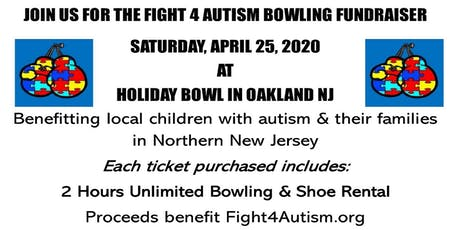 Fight4Autism Bowling Fundraiser tickets