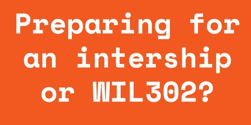 ONLINE - Preparing for an Internship or the Live Brief (WIL302 & WIL302B)